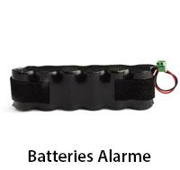 Batterie alarme et piscine