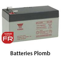 Batteries au plomb
